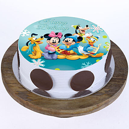 Cartoon Cake for Kids