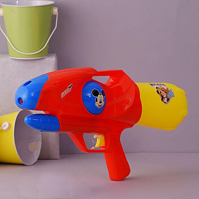 Mickey Mega Red Water Gun:Pichkaris