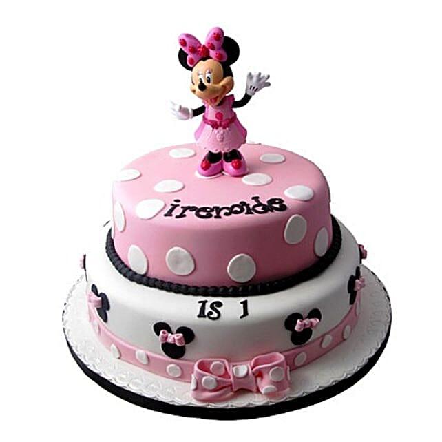 Minnie Mouse Birthday Cake 3kg