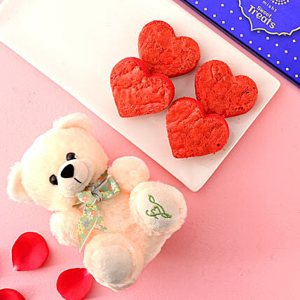 Misht Delicious Brownies Cute Teddy