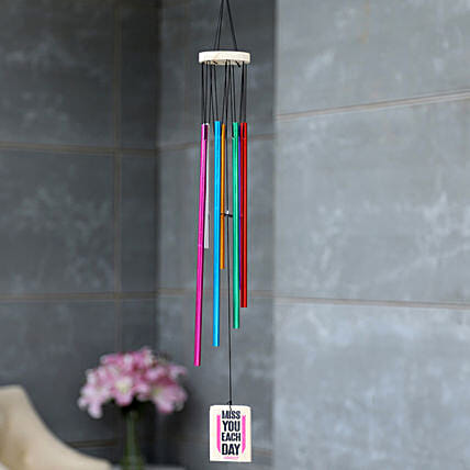 online personalised wind chime