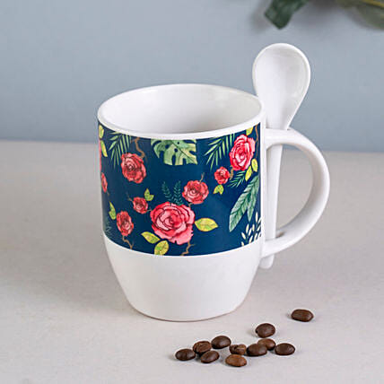 Rose Spoon Mug Online:Mug
