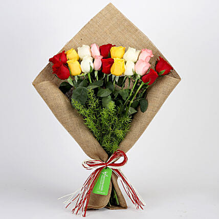 Mixed Roses Bouquet