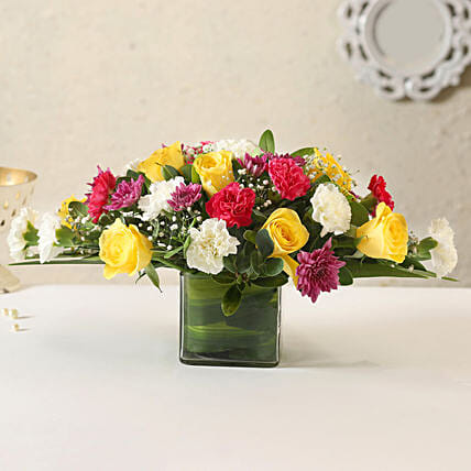 Online Mixed Flower Vase