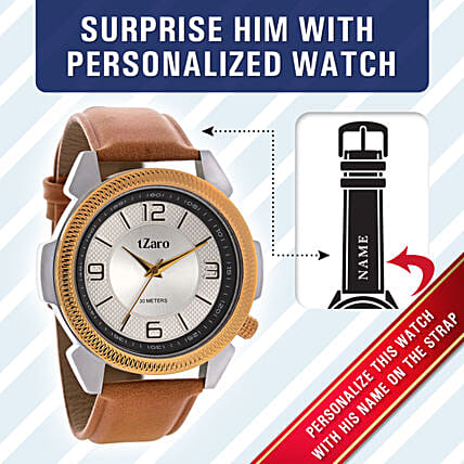 personalised watch for men online:Personalised Gifts for Father