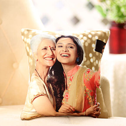 My Best Friend is My Mother-12x12 personalized Mothers cushion:Send Gifts to Raigarh