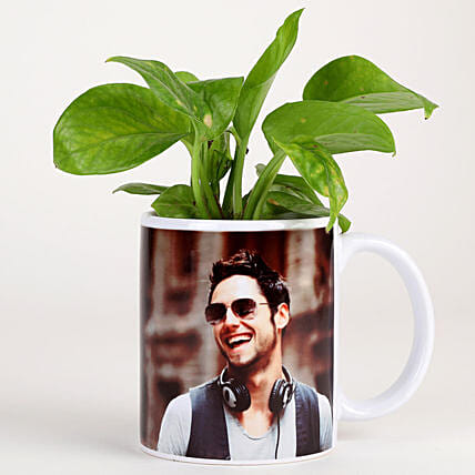best plant n photo coffee mug