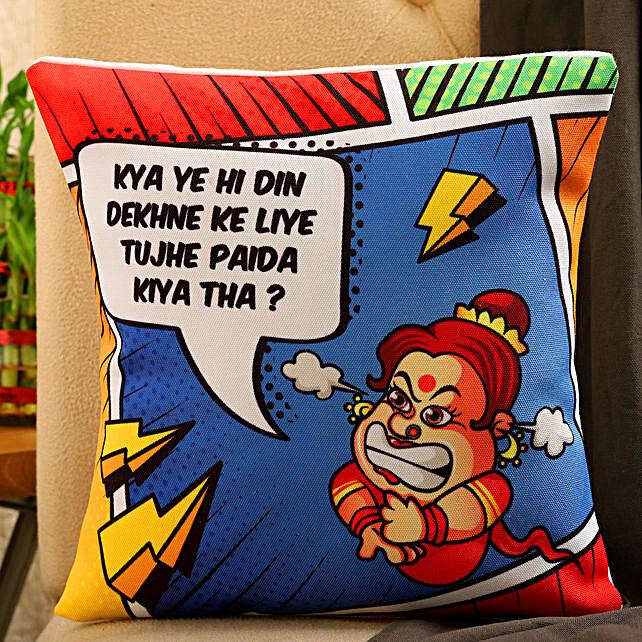 Mothers Day Celebration Printed Cushion
