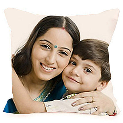 Mothers Day-Personalized Cushion 12x12 inches:Personalised Cushions Lucknow