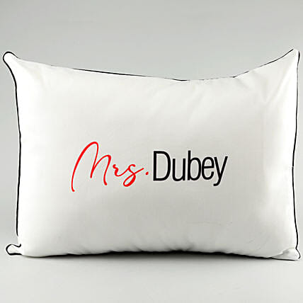 Name Printed Pillow Cover For Wife:Personalised Pillow-covers