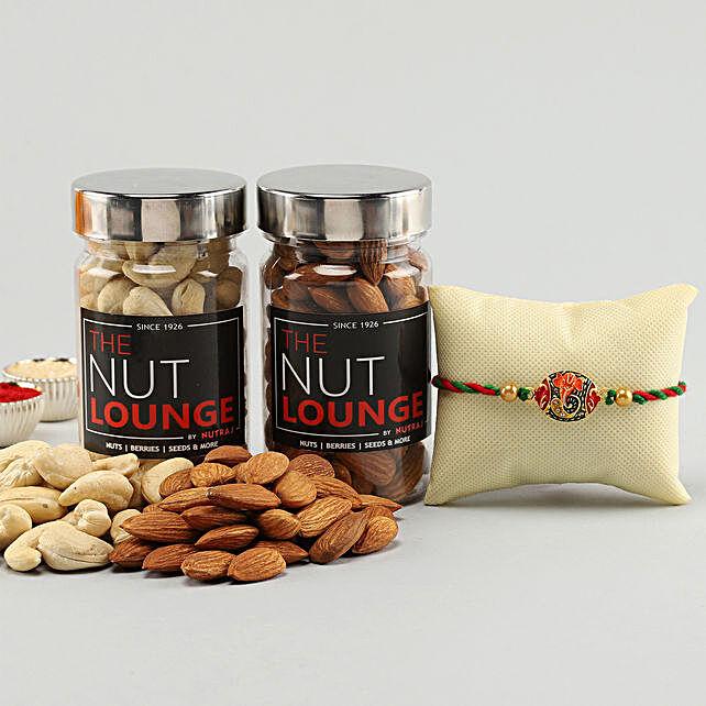 Premium Rakhi & Dry Fruits Pack