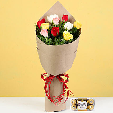 Flower and Chocolates for Her Online