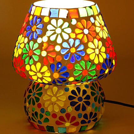 Decorative Glass Table Lamp:Home Decor Gifts