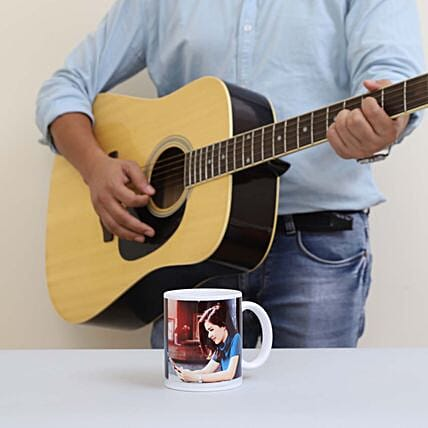Musical Gift With Personalised Mug