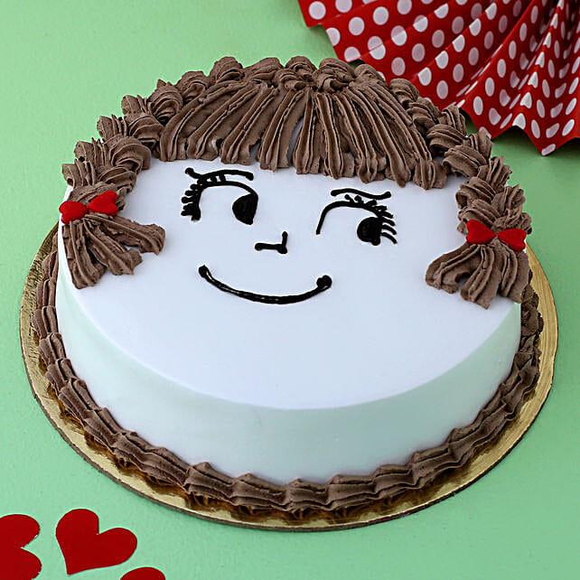 My Cute Love Chocolate Cake