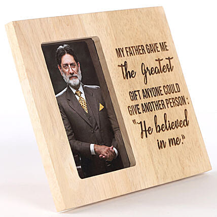 Customise Photo Frame for Grandfather:Send Gifts for Grandfather