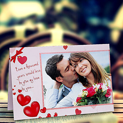 My Love Personalized Card:Buy Greeting Cards