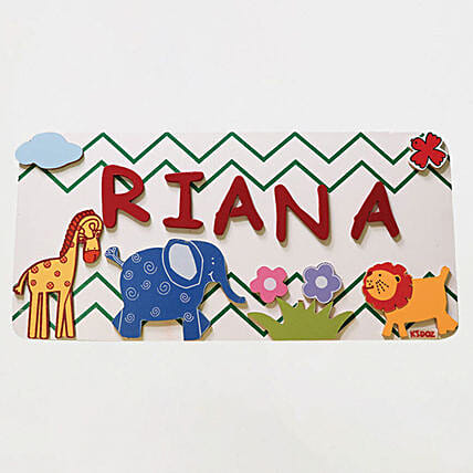 Name Plaque Medium- AnimalOnline