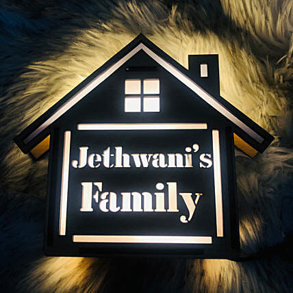 Name plate for Home LED Board