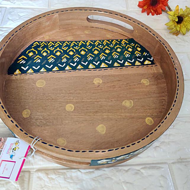 Neel Kanth Round Tray