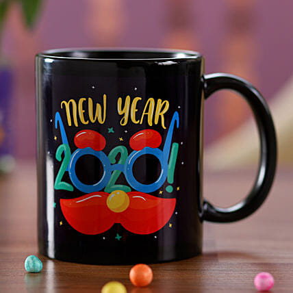 Online New Year Party Time Mug