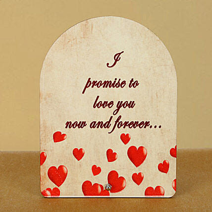 Now n Forever Plaque:Plaques