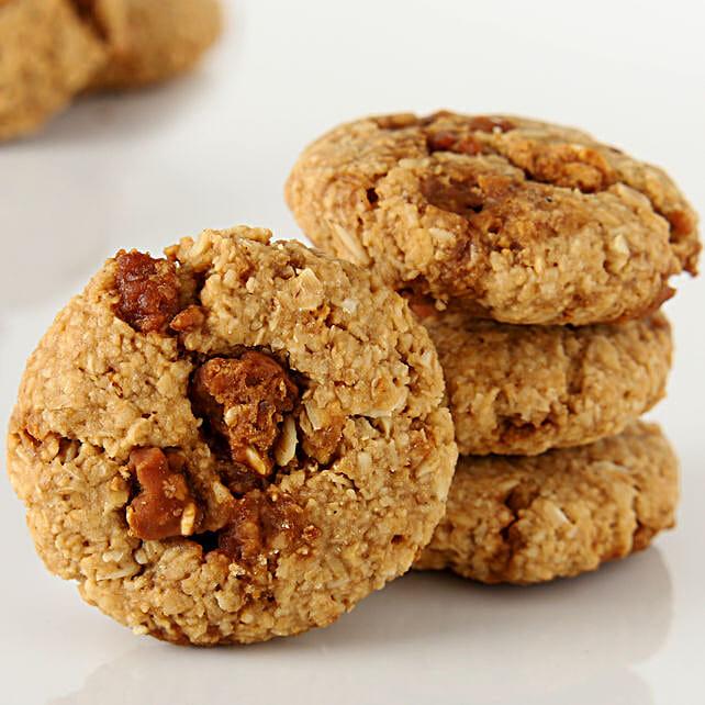 Oat Jaggery Healthy Cookies