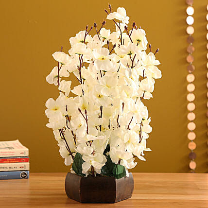 Off White Blossom Flower Arrangement