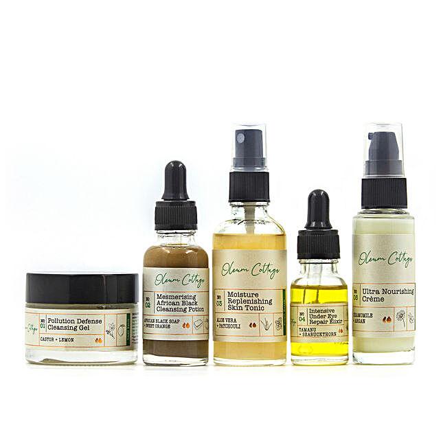 Oleum Cottage Moisturising Skin Essentials Hamper