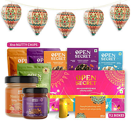 Open Secret Celebrations Gift Hamper:Send Gourmet Gifts