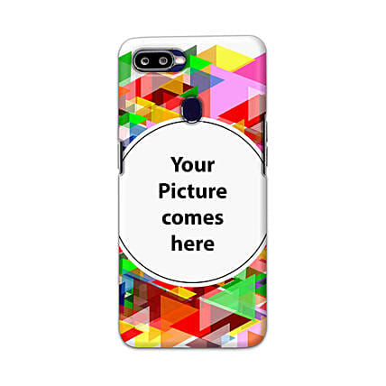 Oppo F9 Pro Multicolor Personalised Phone Cover