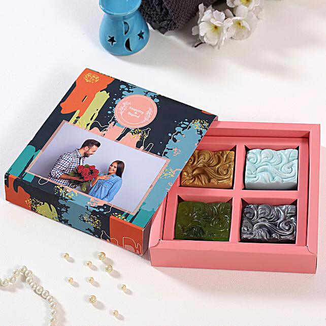 Organic Soap Personalised Box