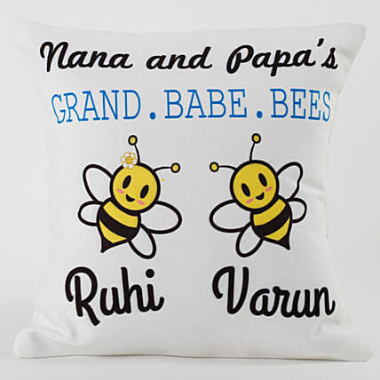 Printed cushion for Dad