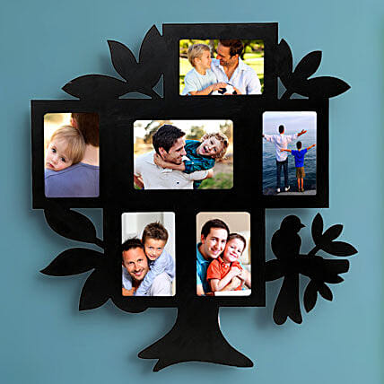 Personalized tree shaped frame:Wedding Personalised Photo Frames