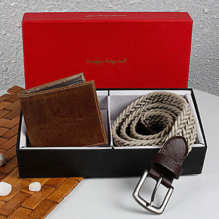 Set Of Wallet N Belt
