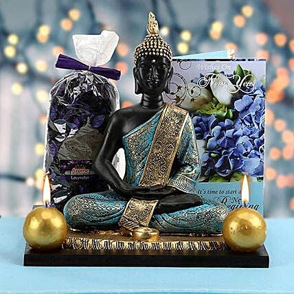 Peace Full Wishes | Gift  greeting-cards,candles,buddha-collection,home-decor,idols,spiritual-feng-shui-gift-hampers  - Ferns N Petals