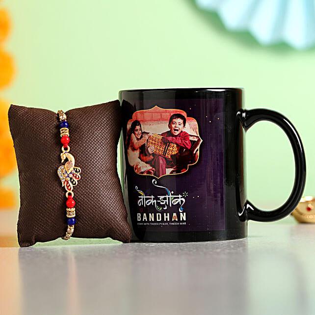 Online Rakhi With  Mug