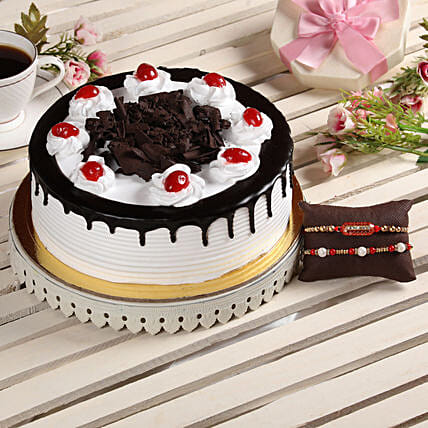 Online Cake and Rakhi Combo For Brother