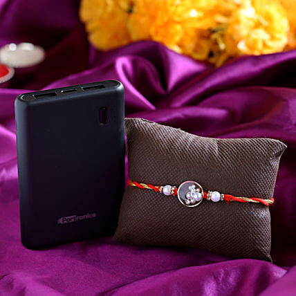 Online Rakhi And Portable Power Bank:Accessories