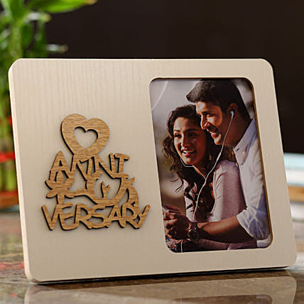 Personalised Anniversary Wishes Photo Frame