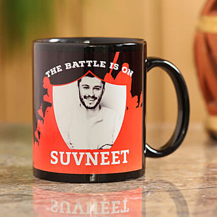 personalised battle mug online