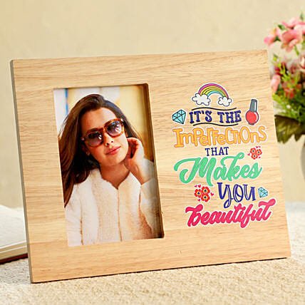 Photo and Text Printed Frame Online:Friendship Day Photo Frames