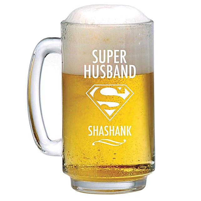 Beer Mug:Personalised Glassware