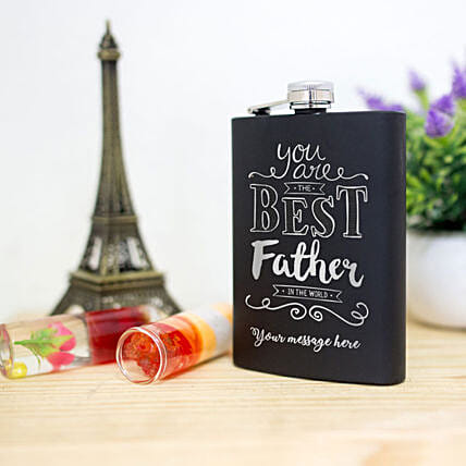 customized flask for dad online