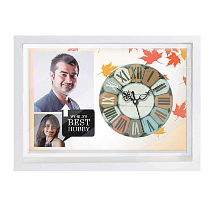 Wall Clock with Photo For Him Online
