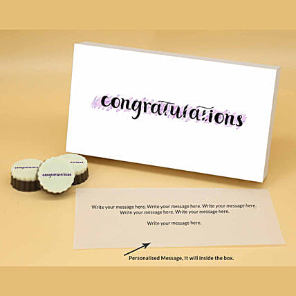 Online Personalised Best Wishes Chocolates