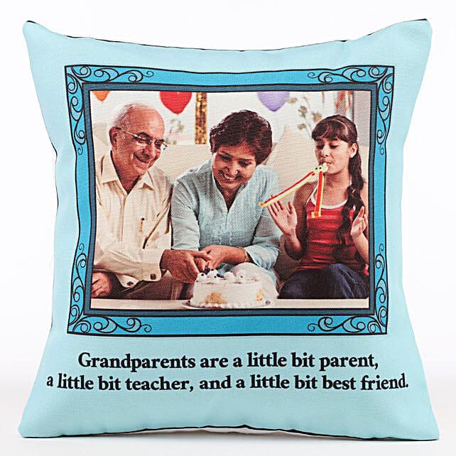 Photo Cushion for Grandparents