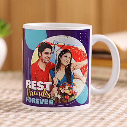 bff personalised mug online:Customised Coffee Mug