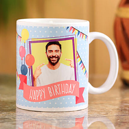 birthday personalised mug for him:Personalised Gifts for Husband