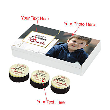 personalised chocolate box online